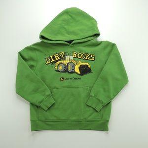"""John Deere Bulldozer """"Dirt Rocks"""" Hoody"""